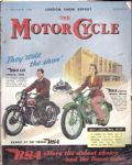 MOTOR CYCLE - MOTORCYCLE MAGAZINE - LONDON SHOW REPORT - 27TH OCTOBER 1949 - M2316